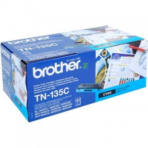 Toner do drukarki Brother TN-135 Cyan, 4000 str.
