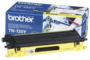 Toner do drukarki Brother TN-135 Yellow, 4000 str.