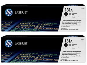 Toner do drukarki HP 131A Black 2.4k Dual Pack CF210XD