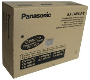 Toner do drukarki Panasonic KXFAT92E-T Trójpak do KX-MB773PD/783 3szt